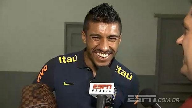Paulinho agradece ao Guangzhou: 'Resgatei minha confiança'
