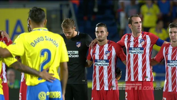 Assista aos melhores momentos da vitória do Atlético de Madri sobre o Las Palmas por 5 a 1!