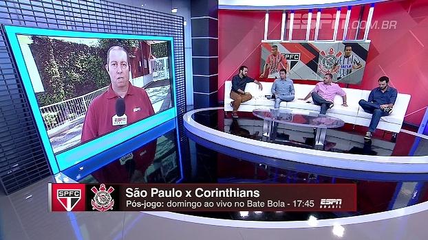 3 zagueiros? Bate Bola analisa possível formação do São Paulo para clássico