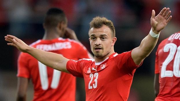 Veja o golaço que Shaqiri marcou no amistoso contra Belarus