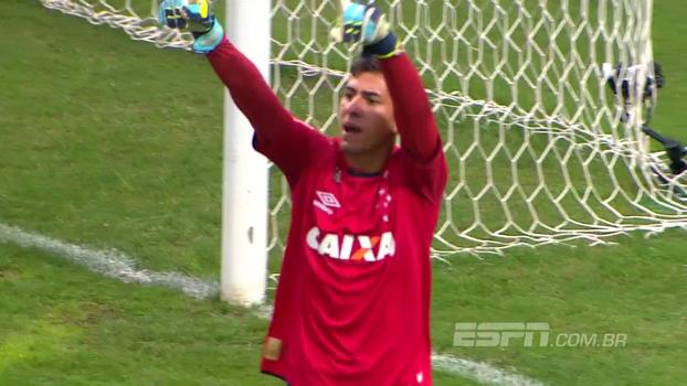 Veja a vitória do Cruzeiro sobre o Coritiba nos pênaltis, pelo Brasileirão sub-20