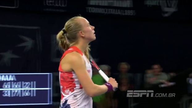 WTA de Luxemburgo: Lances de Bia Haddad Maia 1 x 2 Johanna Larsson
