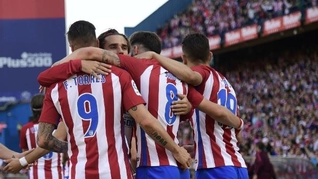 LaLiga: Gol de Atlético de Madri 1 x 0 Eibar