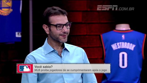 Jogadores da MLB são proibidos de se cumprimentarem após as partidas; ESPN League explica
