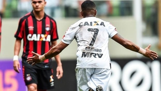 Brasileiro: Gol de Atlético-MG 1 x 0 Atlético-PR