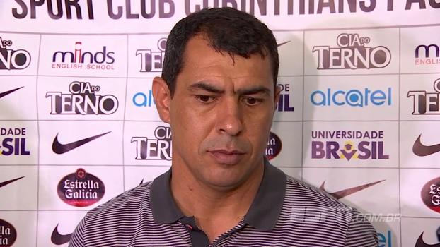 Concentração, erros na saída... Carille diz que conjunto de situações provocou 1º tempo ruim contra o Flamengo