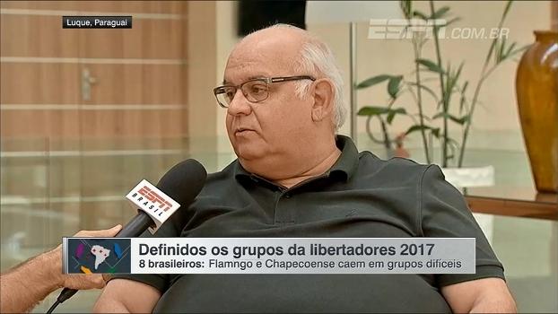 Romildo Bolzan fala da 'valorização' de Renato Gaúcho e comenta grupo da Libertadores: 'Propício para zebra'