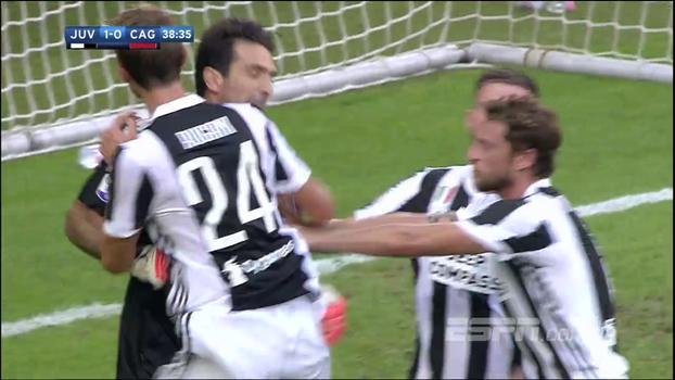 Buffon defende pênalti e evita empate em estreia da Juventus no Italiano