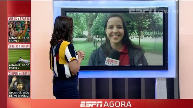 Natalie Gedra conta como foi o empate entre Inglaterra e Escócia e briga pela vaga no grupo G das El