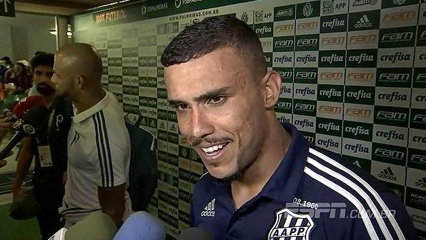 Pottker elogia Prass e brinca com gol perdido: 'Se precisasse, eu teria feito'