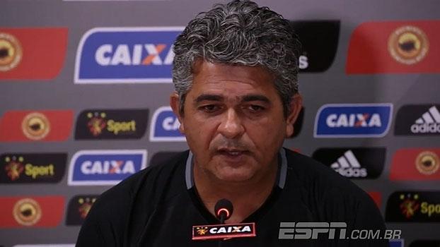 Ney Franco exalta 'elenco recheado' do Sport e conta com Daniel Paulista