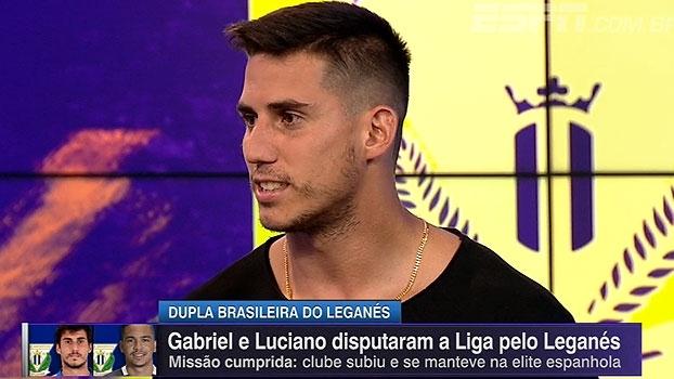 Luciano e Gabriel contam história da 'cesta de pepinos', tradição do Leganés