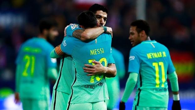 Copa do Rei (semifinal - ida): Gols de Atlético de Madri 1 x 2 Barcelona