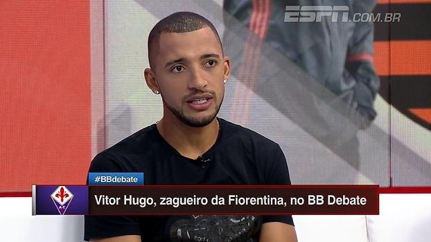 Vitor Hugo se diz ansioso para jogar na Europa: 'Vou tentar me adaptar rápido'