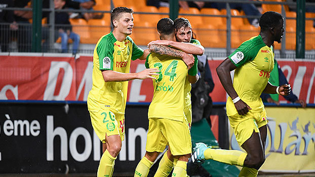 Assista ao gol da vitória do Nantes sobre o Troyes por 1 a 0!