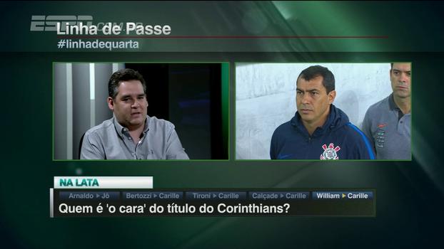 Bertozzi elogia Carille: 'Dos 7 títulos do Corinthians, esse é o que o técnico tem o maior peso'