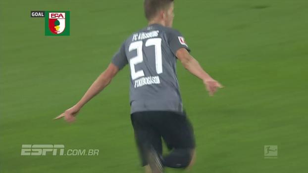 Finnbogason faz 2 gols, Augsburg vence Mainz fora de casa e sobe para o 7º lugar