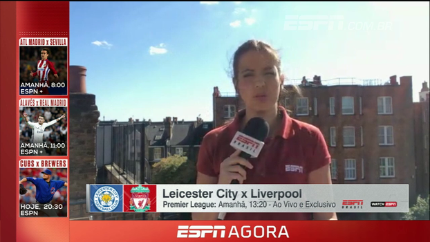 4 jogos sem vitória e confronto com o Leicester; Natalie Gedra traz informações do Liverpool