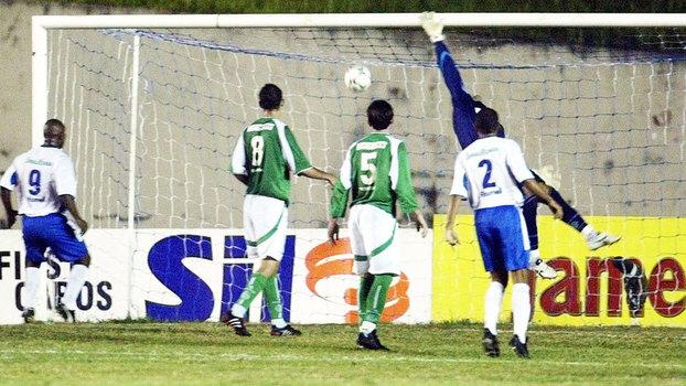 Relembre os gols do empate entre Santo André e Palmeiras pela Copa do Brasil de 2004
