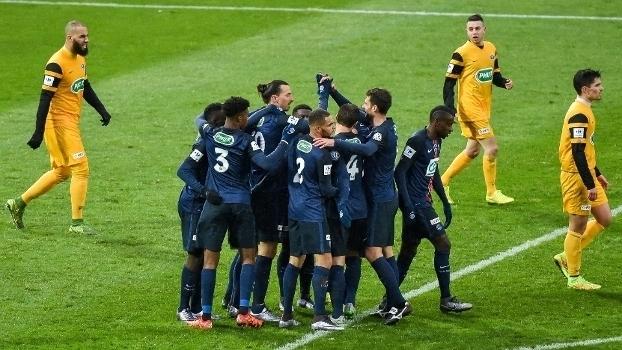 Copa da França: Gol de Wasquehal 0 x 1 PSG