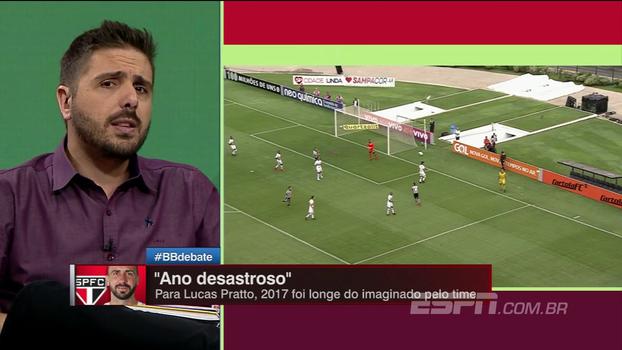 Nicola prefere Pratto a Borja, mas se decepcionou com argentino: 'Foi contratado para ser a grande estrela'