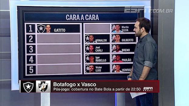 Botafogo x Vasco: Comentaristas do BB Bom Dia fazem seleção ideal dos dois times