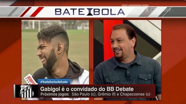 Alê Oliveira e Gabigol são só resenha no Bate-Bola Debate