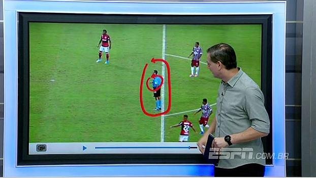 Sálvio diz que gesto não era de comemoração do gol do Fla: 'Estava buscando contato com adcional'