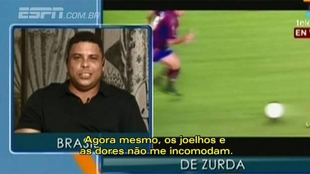 Veja o trecho do programa de Maradona, em que Ronaldo afirma que irá voltar a jogar