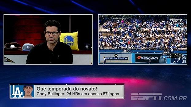 No ESPN League, Paulo Antunes destaca números de novato dos Dodgers: 'É impressionante'