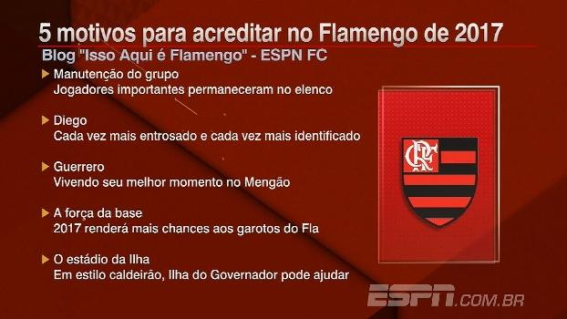 Dá para acreditar no Flamengo em 2017? Veja 5 motivos para o sucesso do Mengão