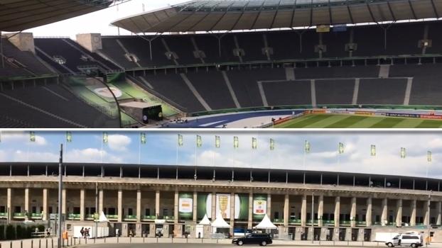 Arquitetura preservada, 80 anos, metrô próximo e modernidade: Mauro mostra o Estádio Olímpico de Berlim