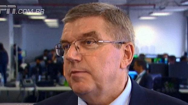 Bach comenta banimento da Rússia das Paralimpíadas e compara com decisão do COI: 'São situações diferentes'
