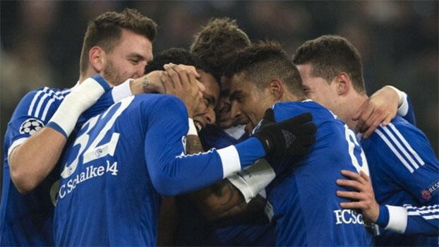Champions League: Gols de Schalke 04 2 x 0 Basel