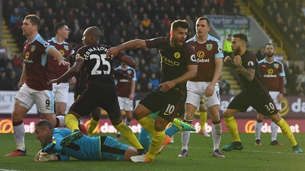 Premier League: Gols de Burnley 1 x 2 Manchester City