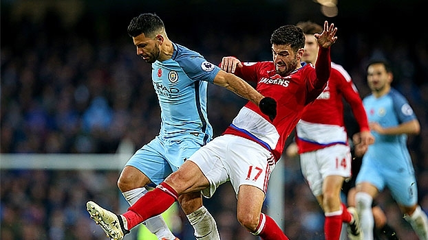 Premier League: Melhores momentos de Manchester City 1 x 1 Middlesbrough