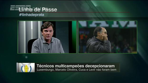 Mauro analisa fracasso de técnicos multicampeões: 'Se não acompanhar o ritmo, fica para trás'