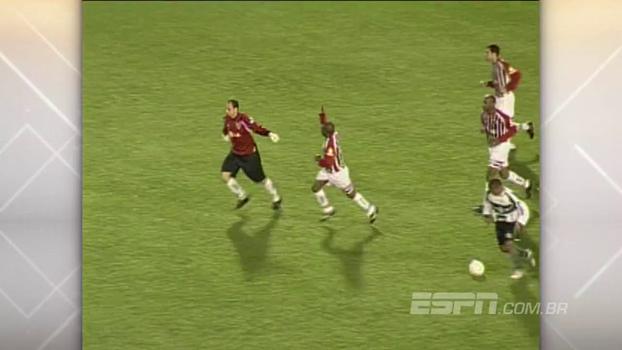 Ceni fez o dele, Hernanes e Cicinho também, e o São Paulo goleou o Coritiba fora de casa em 2005