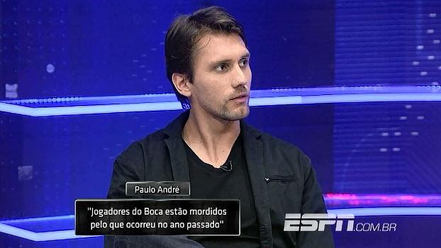 Paulo André revela surpresa por confronto contra o Boca na Libertadores e diz: 'eles vêm mordidos'