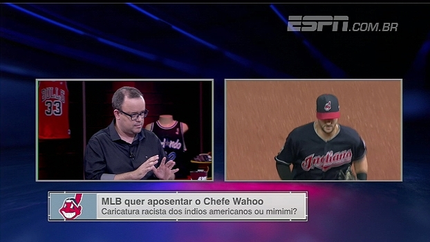 Por retrato caricato e racista com indígenas, a MLB estuda banir logo do Cleveland Indians; veja