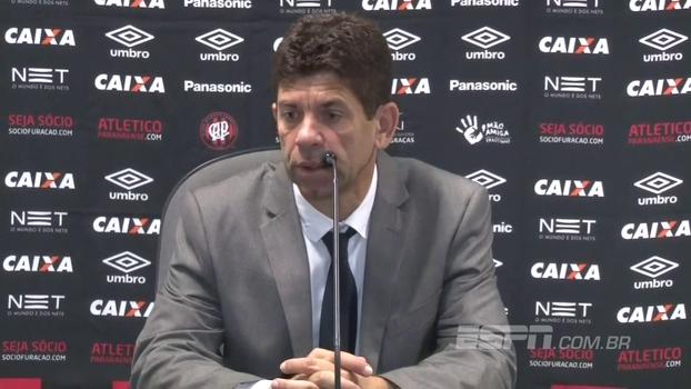 Fabiano Soares lamenta empate sem gols com Grêmio fora de casa: 'Resultado foi um pouco injusto'