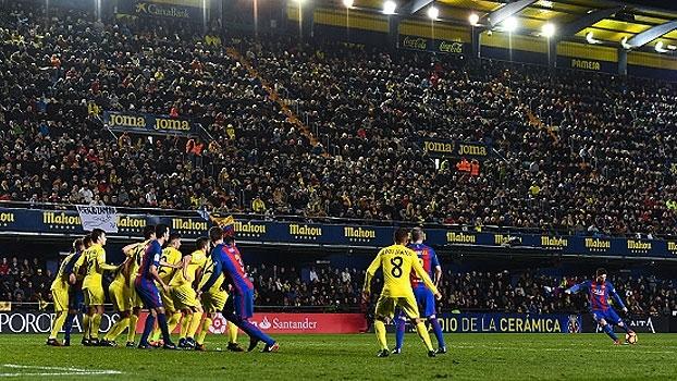 LaLiga: Gols de Villarreal 1 x 1 Barcelona