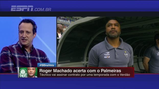 Gian avalia 'técnicos cascudos' e opina: 'Entre Abel Braga e Roger Machado, Roger é a melhor opção'