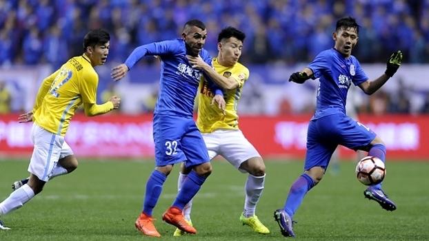 Veja os gols da vitória do Shanghai Shenhua sobre o Jiangsu Suning por 4 a 0 pelo Chinês