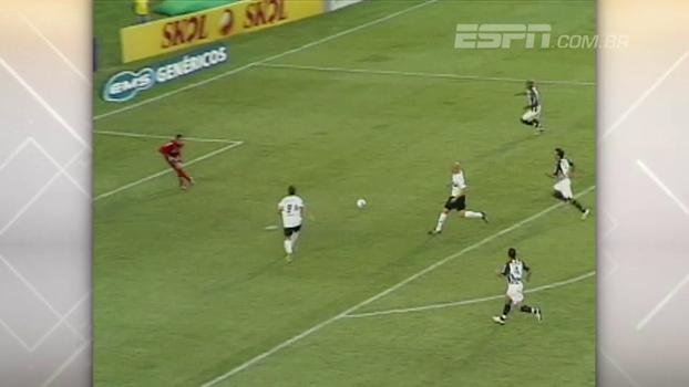 Marlos infernizou Santos, e Coritiba goleou com quatro gols de Keirrison em 2008