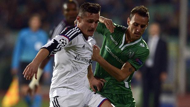 Champions League: Gol de Ludogorets 1 x 0 Basel