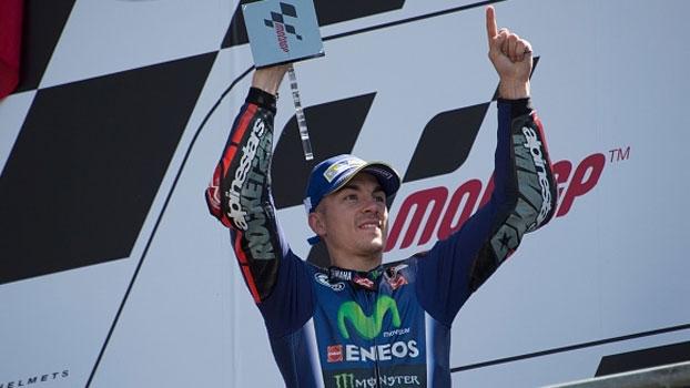 Maverick Viñales vence o Grande Prêmio da França de MotoGP na última volta