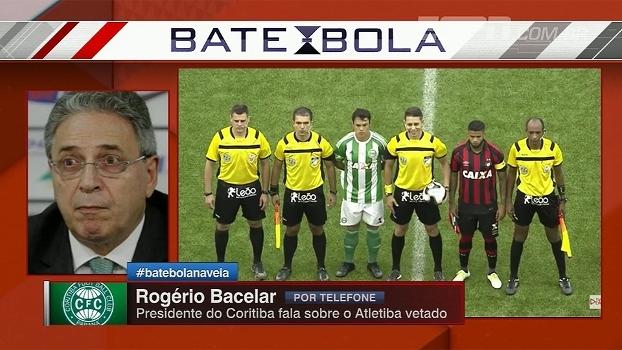 Presidente do Coritiba diz que federação proibiu transmissão do jogo de forma arbitrária