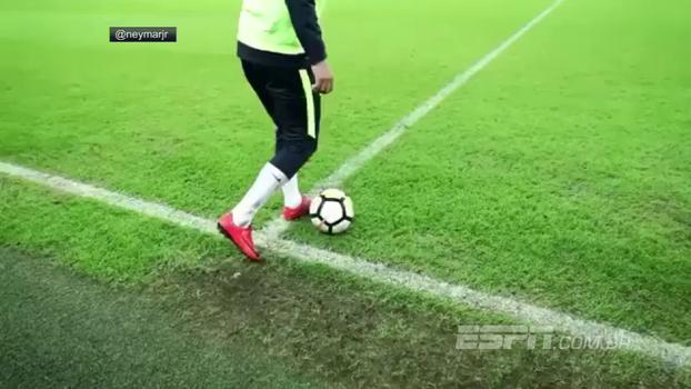 'Tudo que vai, volta!' Neymar não perdoa Gabriel Jesus e aplica canetinha em treino da Seleção