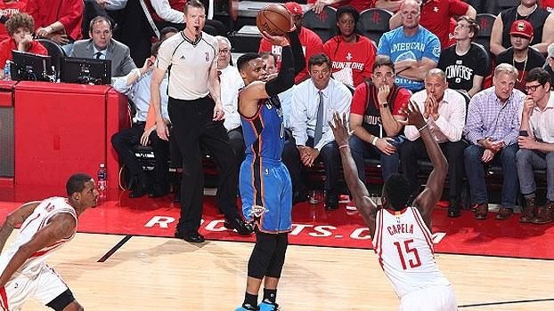 NBA: Melhores momentos de Houston Rockets 115 x 111 Oklahoma City Thunder